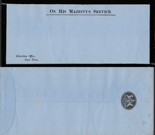 O.H.M.S. , EDUCATION OFFICE, CAPE TOWN, Envelope, Colony Arms On Flap - Cape Of Good Hope (1853-1904)