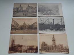 Beau Lot De 60 Cartes Postales De Belgique  Anvers      Mooi Lot Van 60 Postkaarten Van België  Antwerpen - 60 Scans - Cartes Postales