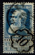 76  Obl  Ciney + 2  Et Cachet Facteur 10 - 1905 Breiter Bart