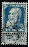 76  Obl  Ciney + 2  Et Cachet Facteur 8 - 1905 Breiter Bart