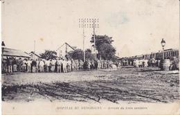 HOPITAL DE MESGRIGNY -  ARRIVEE DU TRAIN SANITAIRE - France