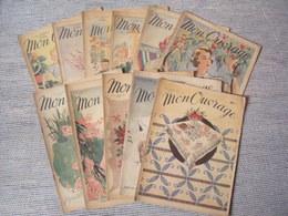 LES 11NUMEROS DE MON OUVRAGE DE 1949 - Livres, BD, Revues