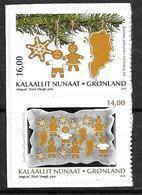 Groënland 2018, N°778/779 Adhésifs Neufs Noêl - Groenlandia
