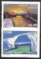 Groënland 2018, N°749/750 Neufs Adhésifs Issus De Carnet Europa Ponts - Groenlandia