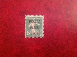 Preoblitéré YT 26 Postes Paris 1921 - 1893-1947