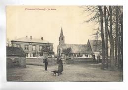 80 - FRIAUCOURT ( Somme ) - La Mairie - Personnages - Francia