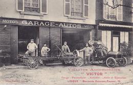 LISIEUX  -  VOITURES AUTOMOBILES VICTOR - Lisieux