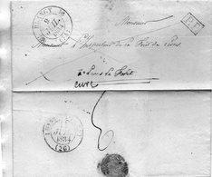 Cachet 12 BLANGY (74),L.A.C. Du 7/7/34,P.P. - 1801-1848: Voorlopers XIX