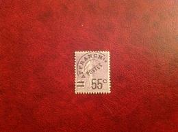 Preoblitéré YT 47 55c Sur 60c - 1893-1947