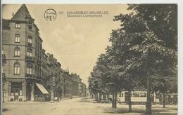 CP.Bruxelles-Schaerbeek (ex-Collection DELOOSE) - (Les TRAMWAYS TRAM BRUXELLOIS) Boulevard Lambermont TRAM + (à Gacuhe) - Schaarbeek - Schaerbeek