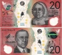 AUSTRALIA       20 Dollars       P-New       (20)19       UNC - 2005-... (Polymer)