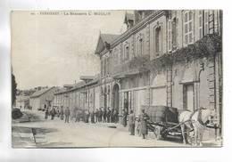 76 - FERRIERES - La Brasserie L. MOULIN. Beau Plan Animé - Autres Communes