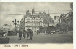 CP.Bruxelles-Schaerbeek (ex-Collection DELOOSE) - (Les TRAMWAYS TRAM BRUXELLOIS) Porte De Schaerbeek Tram 328 - W0317 - Schaerbeek - Schaarbeek