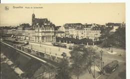 CP.Bruxelles-Schaerbeek (ex-Collection DELOOSE) - (Les TRAMWAYS TRAM BRUXELLOIS) Porte De Schaerbeek Trams - W0318 - Schaarbeek - Schaerbeek