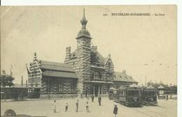 CP.Bruxelles-Schaerbeek (ex-Collection DELOOSE) - (Les TRAMWAYS TRAM BRUXELLOIS) Schaerbeek La Gare -   Trams Lignes 3 E - Schaarbeek - Schaerbeek