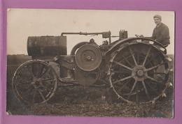 CARTE PHOTO TRACTEUR  TITAN - Tracteurs