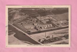COUDEKERQUE BRANCHE Près DUNKERQUE - HUILERIE LESIEUR / VUE AERIENNE  - ( Carte Datée 1923 ) - Coudekerque Branche