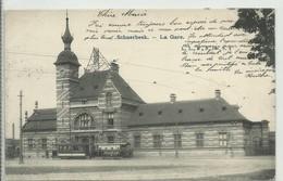 CP.Bruxelles-Schaerbeek (ex-Collection DELOOSE) - (Les TRAMWAYS TRAM BRUXELLOIS) LA Gare  -  Tram - W0322 - Schaarbeek - Schaerbeek