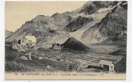 LE LAUTARET - N° 25 - LE JARDIN ALPIN ET LE COMBEYNOT - CPA NON VOYAGEE - France