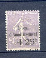 CAISSE AMORTISSEMENT N° 276 Charnière  Cote 140 Euros - Ohne Zuordnung