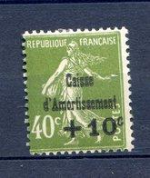 CAISSE AMORTISSEMENT N° 275 Charnière  Cote 60 Euros - Ohne Zuordnung