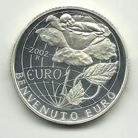 """2002 - San Marino 10 Euro """"Benvenuto Euro"""" - Senza Confezione - San Marino"""