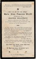 Aartselaar, Waarloos, 1930, Maria Sillis, Hellemans - Images Religieuses