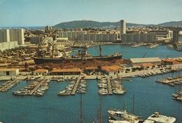 TOULON - CPSM : Le Port Marchand - Toulon