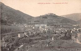 Vue Générale Et Le Fort - Amélie-les-Bains-Palalda - Ceret