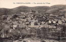 Vue Générale Du Village - Vernet-les-Bains - Prades