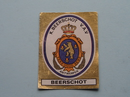 K. BEERSCHOT V.A.V. Antwerpen > FOOTBALL 81 ( N° 39 ) - Figurine PANINI ! - Trading-Karten