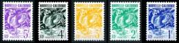 NOUV.-CALEDONIE 1990 - Yv. 602 à 606 **   Cote= 2,00 EUR - Le Cagou (5 Val)  ..Réf.NCE25317 - New Caledonia