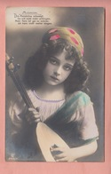 OLD PHOTO POSTCARD - CHILDREN - FAMOUS MODEL FROM THE 1910/20'S - GRETE REINWALD - Portretten