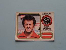 ANTWERP ( Dimitri DAVIDOVIC Trainer ) > FOOTBALL 81 ( Nr. 24 ) - Figurine PANINI ! - Trading-Karten