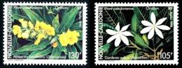 NOUV.-CALEDONIE 1990 - Yv. 599 Et 600 **   Faciale= 1,97 EUR - Fleurs : Gardénia Et Hibbertia (2 Val.)  ..Réf.NCE25315 - New Caledonia