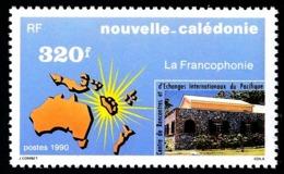 NOUV.-CALEDONIE 1990 - Yv. 598 **   Faciale= 2,68 EUR - Francophonie  ..Réf.NCE25314 - Nouvelle-Calédonie