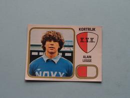 KORTRIJK K.V.K. ( Alain LEGGE ) > FOOTBALL 81 ( Nr. 169 ) - Figurine PANINI ! - Trading Cards