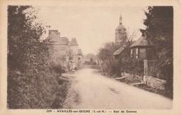 AVALLES Sur SEICHE Rue De Gennes - Frankreich