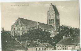 Bolsward; Gezicht Op De Martinikerk - Niet Gelopen. (P. De Jong) - Bolsward