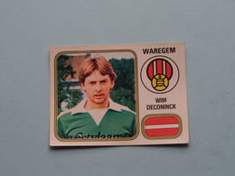 WAREGEM ( Wim DECONINCK ) > FOOTBALL 81 ( Nr. 277 ) - Figurine PANINI ! - Tarjetas