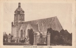 AVALLES Sur SEICHE  L Eglise - Other Municipalities