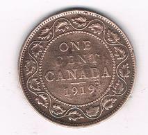1 CENT 1919 CANADA /86/ - Canada