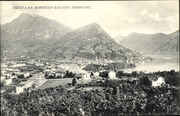 Cp Lugano Kt. Tessin Schweiz, Veduta Da Moncucco Verso Est - TI Tessin