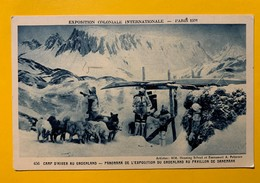 9909 - Exposition Coloniale Paris 1931 Camp D'hiver Au Groenland - Esposizioni