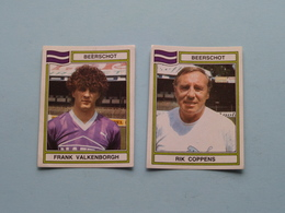 BEERSCHOT ( Rik COPPENS & Frank VALKENBORGH ) > FOOTBALL 84 ( Nrs. 40 - 53 ) - Figurine PANINI ! - Trading-Karten