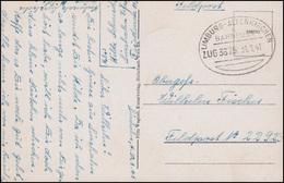 Bahnpost LIMBURG - ALTENKIRCHEN ZUG 3875 - 31.1.1941 Auf AK Siershahn/Westerwald - Sin Clasificación