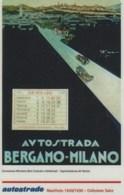 *ITALIA: VIACARD - AUTOSTRADA BERGAMO-MILANO (L.20000)* - Usata - Non Classificati