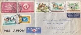 LETTRE. LIBAN TCHERNIGUIN POUR LA FRANCE - Libano