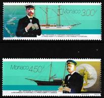 Série De 2 T.-P. Neufs** - Campagnes Océanographiques Albert 1er Et Charles 1er - N° 2031-2032 (Yvert) - Monaco 1996 - Ungebraucht