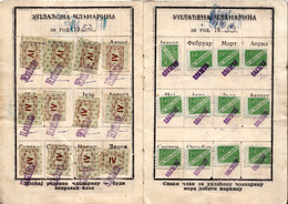 SINDICATE OF YUGOSLAVIA 1955 - Beneficiencia (Sellos De)